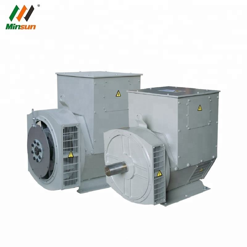 Small Motor 5KW Generator Electric Generator Stamford Alternator Dynamo with Double Bearings