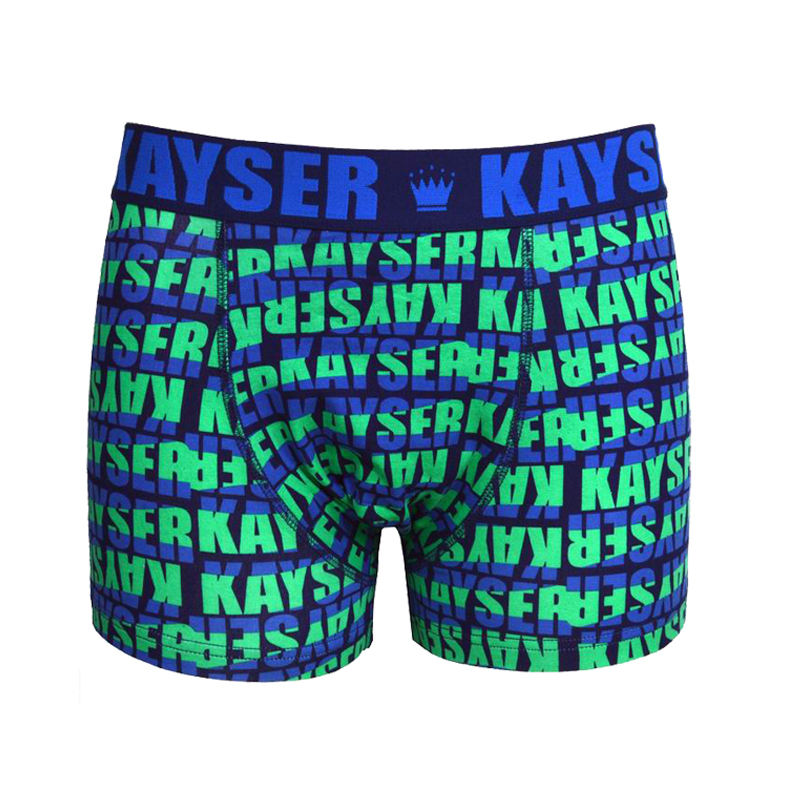 Man Brand Custom Boxer Briefs Thick Cotton Allover printing Boxer Underwear