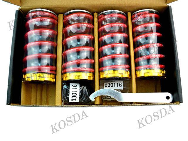 Voiture air suspension coil over ressorts chocs, choc de la suspension pneumatique absorbeur ressort hélicoïdal