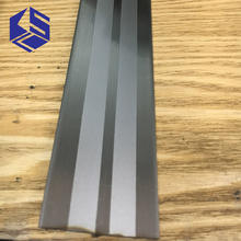 Metal edging door threshold stainless steel t slot flooring transition strips for sale
