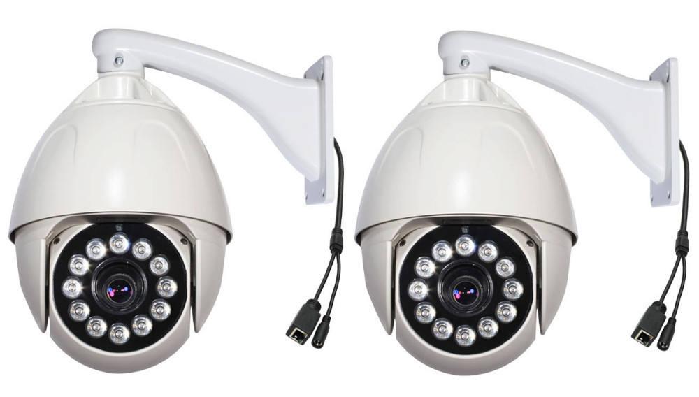 Circuito cerrado de televisión del sensor 960p en- caja con cable de red domo de visión nocturna cámara ip