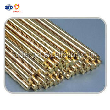 High Quality Free Cutting Alloy Brass Round Rod ASTM B16 For Industry
