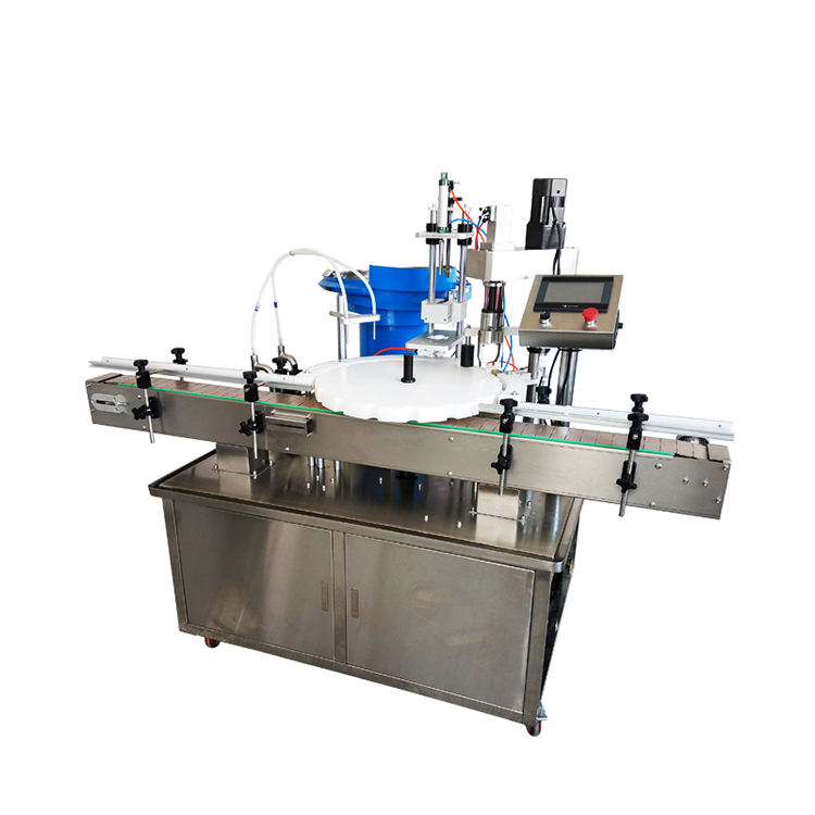 Automatic liquid filling machine bottle filling capping and labeling machine price