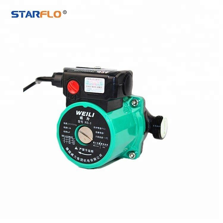 STARFLO RS-6 Low Noise Heating Circulation Pump for domestic