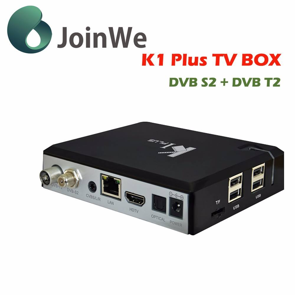 Joinwe K1 Plus Dvb S2/ts Android 5.1 Tv Box Os Quad Core Dvb-s2 + t2/c K1 Plus mit dvb-s/t K1 Plus