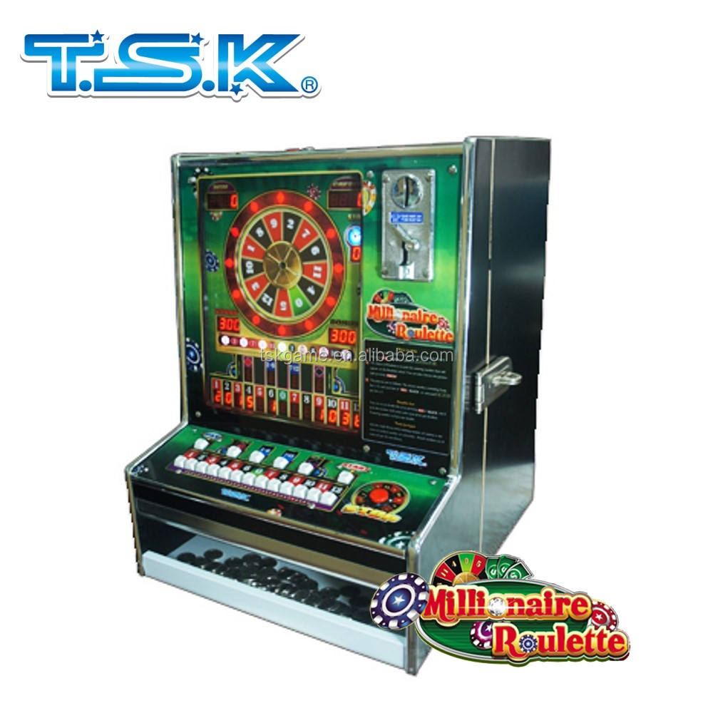 Taiwan Customized MY-TR2 Millionaire Roulette Arcade cheerful Mario game machine casino roulette machine