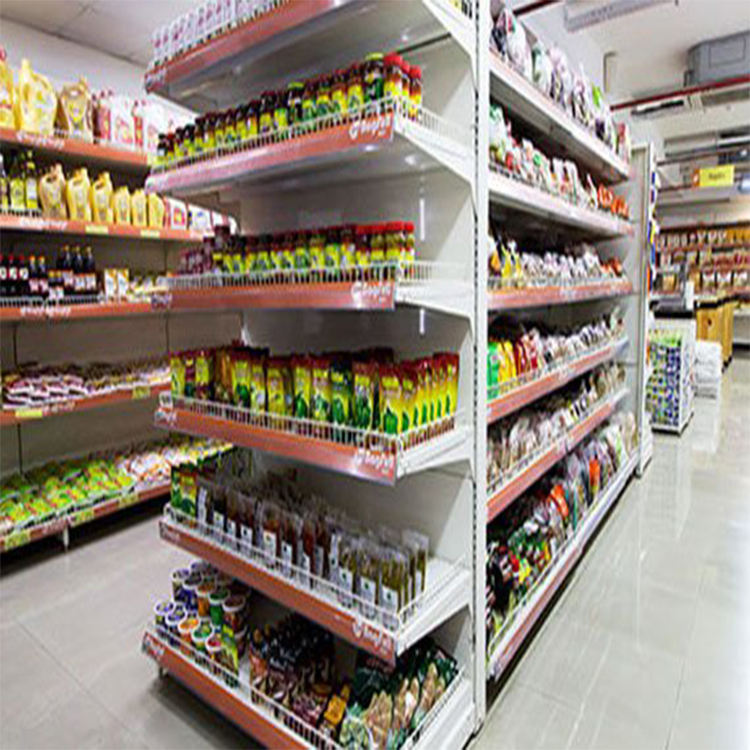 Supermarket display shelves mini market metal shelves