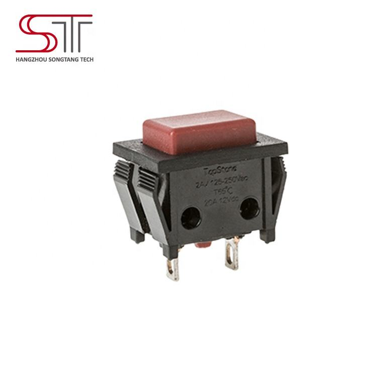 P5 2.8x0.8 Solder Tab SPST NO di potenza push button switch interruttore di pulsante di alimentazione di potenza push button switch