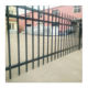 Tubular Fencing Steel Spear Top Black Security Fence Panels
