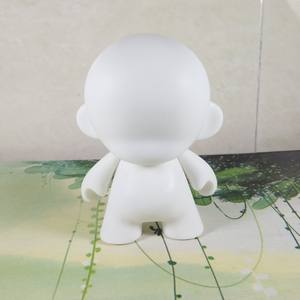 hot sale 4inch custom DIY munny blank vinyl toy action figure for kid