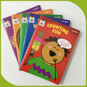 Custom printed color stickers books for toddlers / children / kids