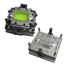 PP rattan basket mould plastic basket injection mould