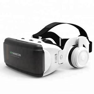 Hot 3d vr glasses virtual reality gear goggles 3D goggle cardboard VR 3D glasses shinecon VR glasses