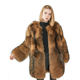 Mao Mao Fur Professional Lovely Genuine Raccoon Jacket Full Fur Coat Made in China