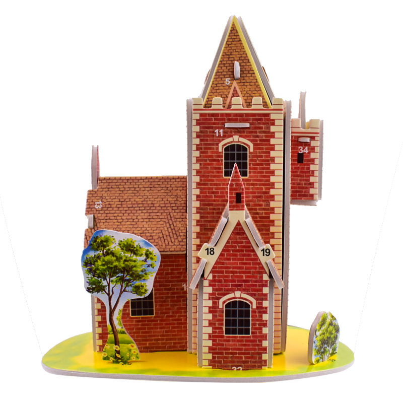model kits adults paper puzzle 3d wholesale custom cardboard puzzle manufacturers jigsaw puzzle companies
