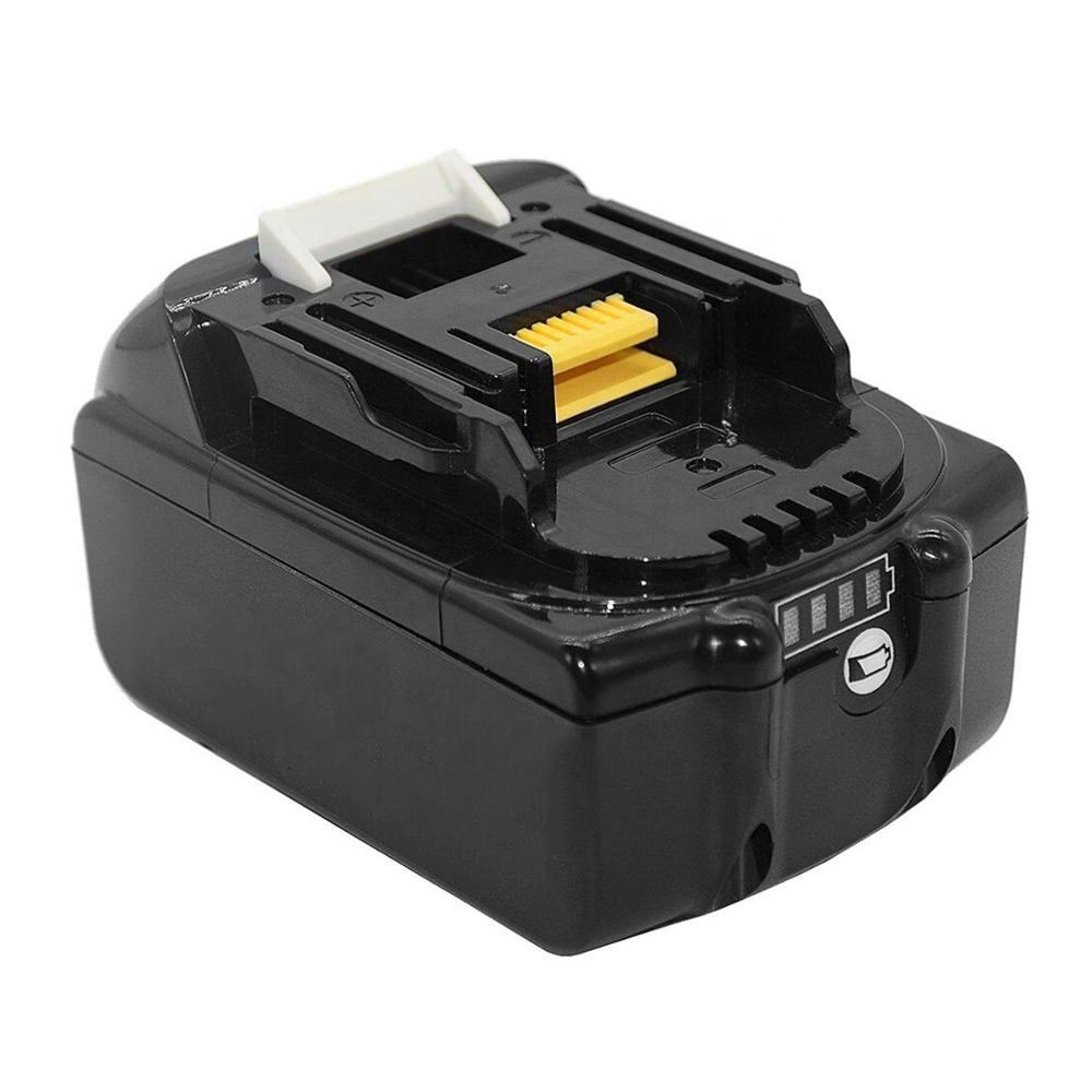 18V 6.0Ah In Stock Lithium Ion Power Tools Battery Pack Wholesale BL1860B Fit for Makita Combo Kit Battery