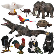 2nd set:  PVC Simulation Solid Animal Model Figure Plastic Animal Toy Figurines