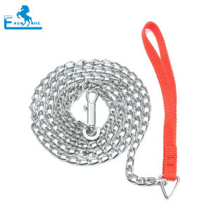 Hot sales silver dog leash chain