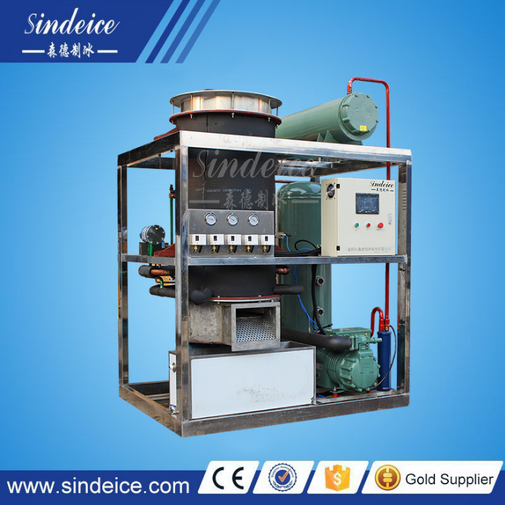 Commercial 1 ton Ice Machine/ice Tube Maker/industrial Ice Tube Ice Making Machine
