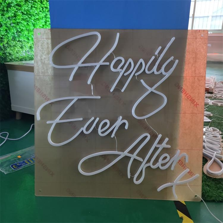 China manufacturer silicone outdoor indoor led neon flex sign custom