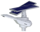 80W motion sensor high tech outdoor all in one led solar street light integrated