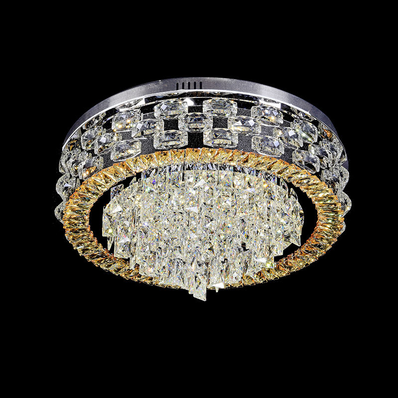 Design indoor crystal lights, crystal ceiling lighting, modern crystal chandelier