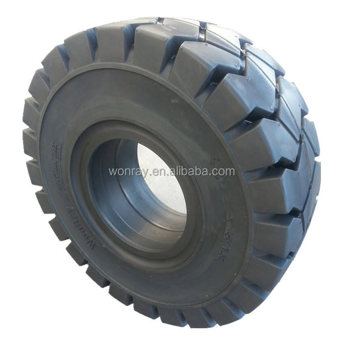 China Manufacturer 27x10-12 Industrial Tires For Linde H30D 2.7 Ton Forklift Front Tire