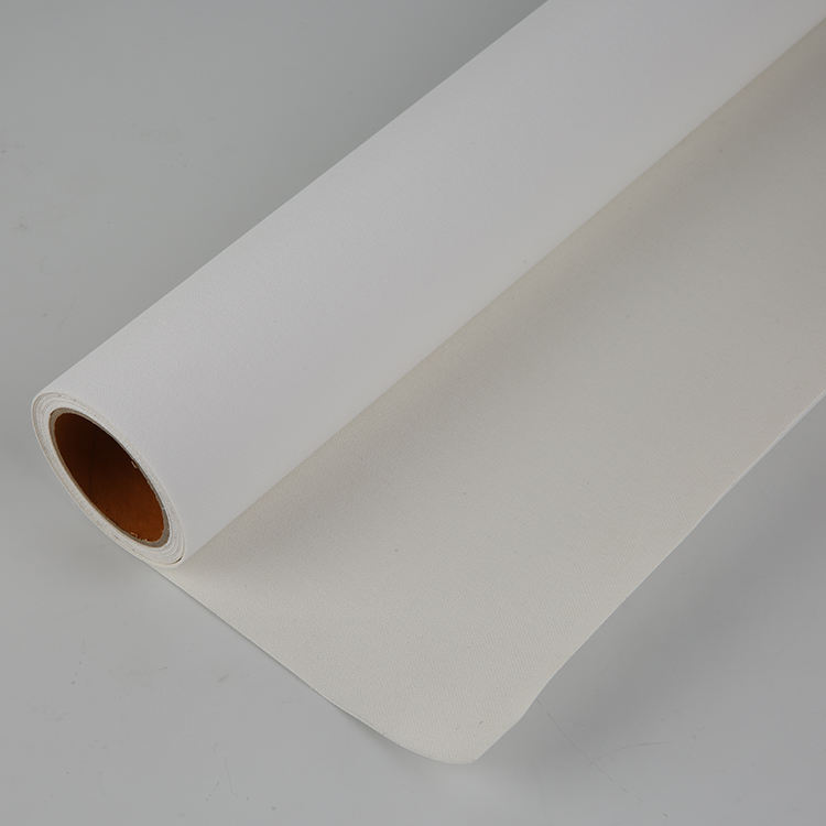 FLY White waterproof Matt digital printing cotton canvas roll blank canvas