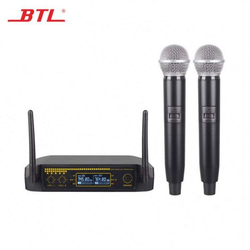 China Factory Lavalier Digital Fm Wireless Microphone Karaoke Mic