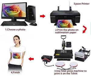 CE Tested Lowest Cost Digital Combo all in one 8-in-1/9 in one blank hat mug T shirt sublimation lighter basketball heat press