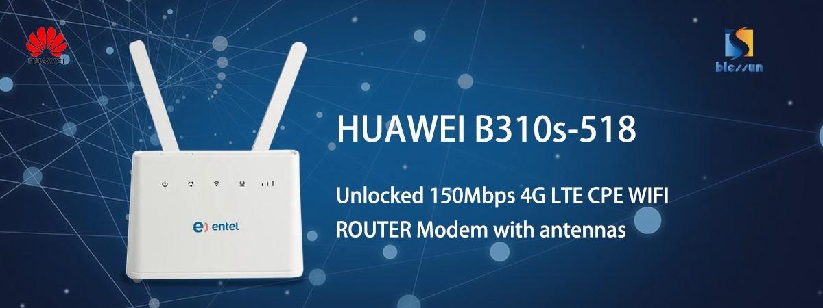 E8372h-608 WiFi Hotspot 150Mbps LTE 4G 3G USB Modem Stick Router SIM Card Slot