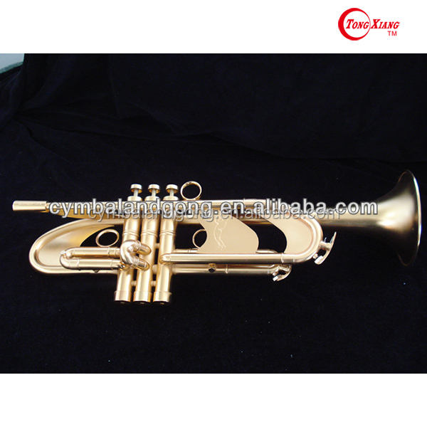 Brass Trumpet GTR-885DG series Wind Instrument From ZQ Tongxiang