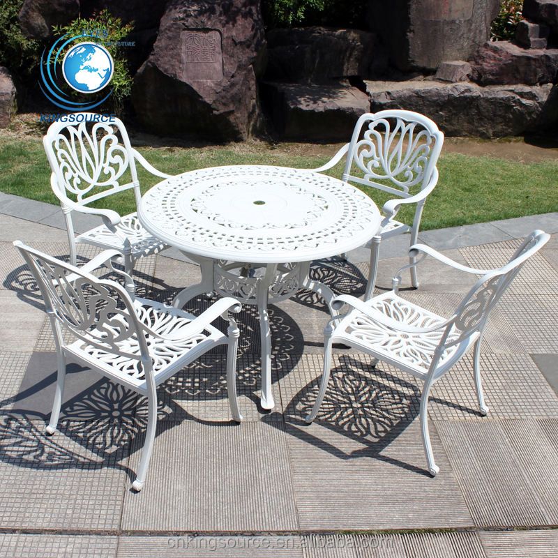 Luxury Outdoor Garden Line Cast Aluminum Patio Sets