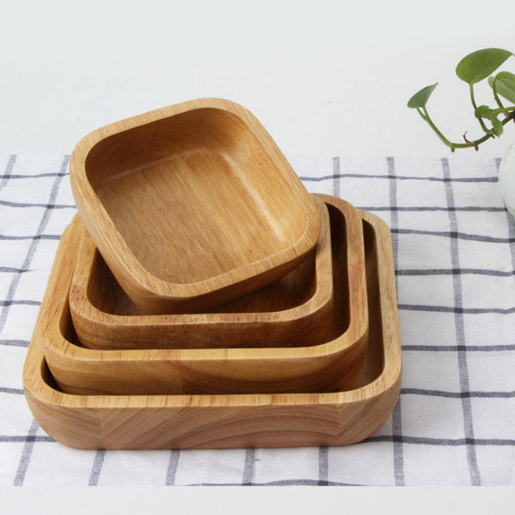 Acceptable customization of environmental quality assurance Wooden Bowl