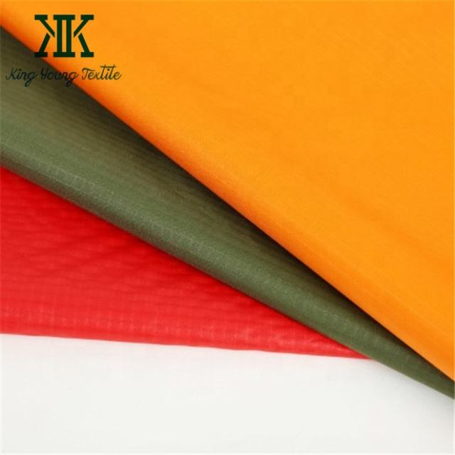 nylon ripstop for kite / 190T 210T ripstop nylon hammock / silicone coated waterproof 190T kite fabric