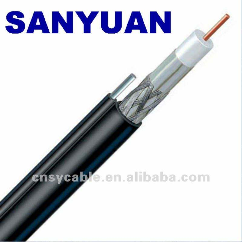 75 ohm RG6 cable coaxial (Ce RoHS REACH ISO9001)