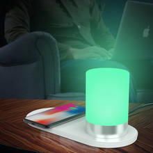 best selling products 2018 in usa wireless charger led desk lamp rgb night light sleeping lamp,kids lamp bedside