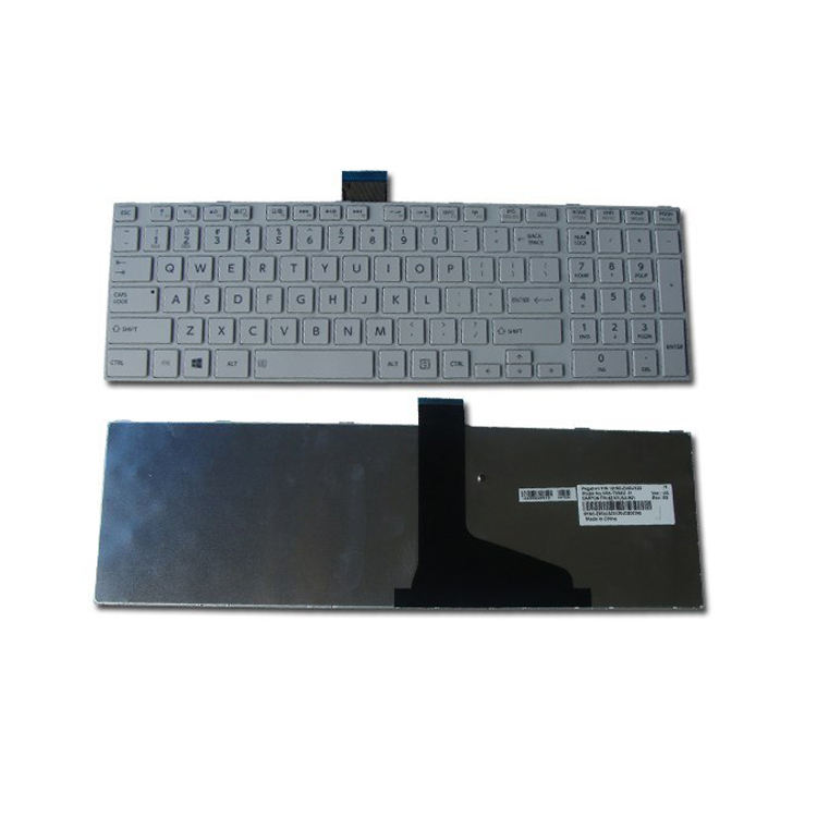 NEW P850-12X P850-12Z TOSHIBA SATELLITE UK Keyboard Black Gloss Frame