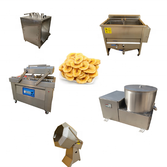 Chips application industrial banana chips making machine production line for sale