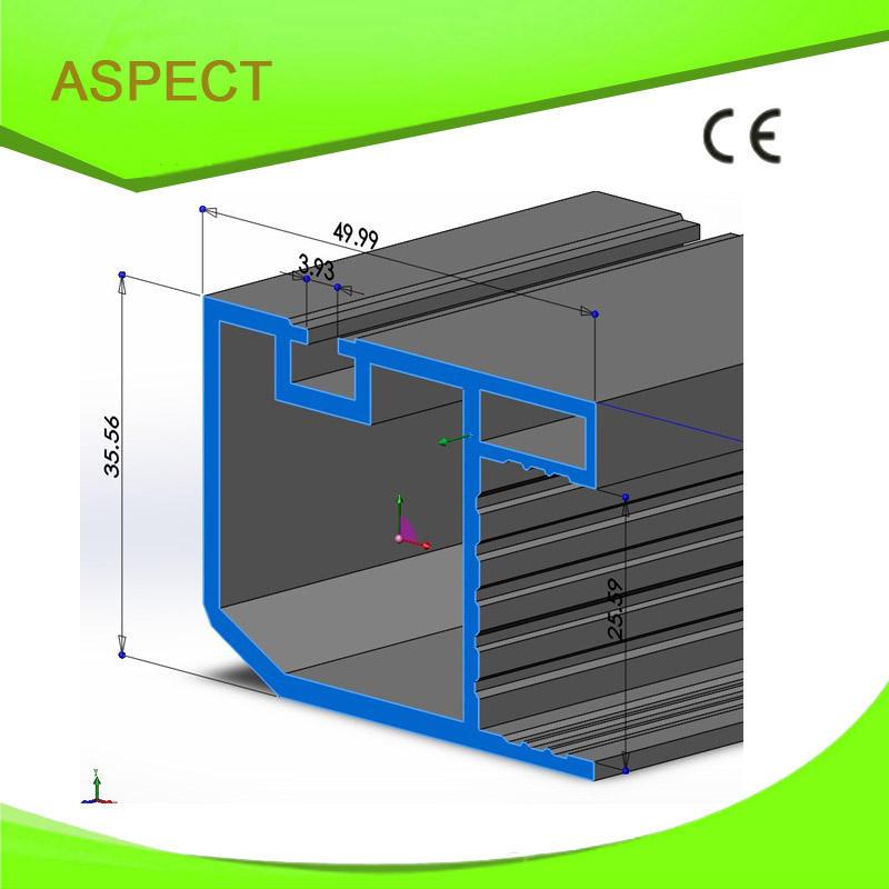 Мягкого ПВХ жесткий ПВХ профиль машина окна ПВХ профиль