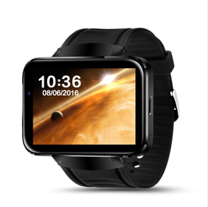 DM98 Smart Watch MTK6572 Android 4.4 OS 3G WIFI GPS Bluetooth 4.0 Support SIM Card Dual Core 4GB ROM Camera Smartwatch
