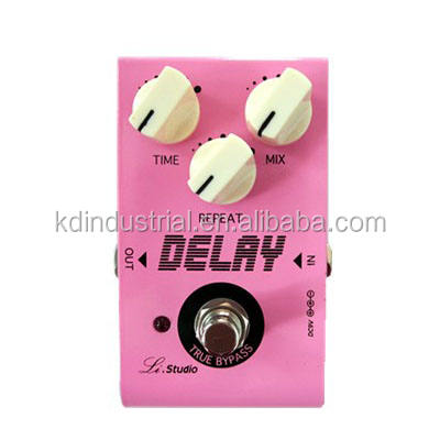 KD-ET03 110*70*53mm Pink Guitar Parts Vintage Guitar Overdrive Effect Pedal