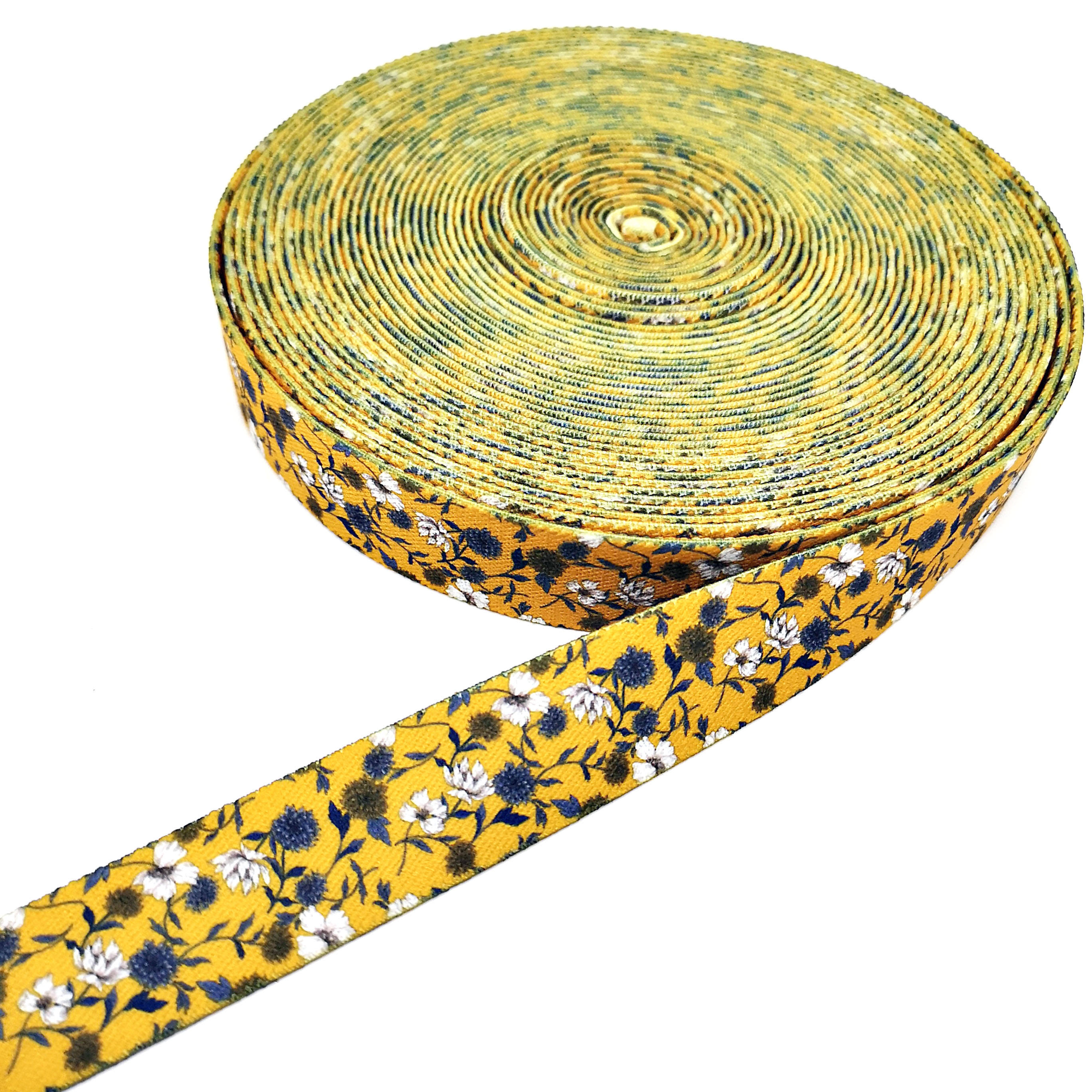 Packaging Customization [ Elastic ] Elastic Ribbon Personality Custom Dye Sublimation Printed Elastic Band Ribbon #elasticbandribbon
