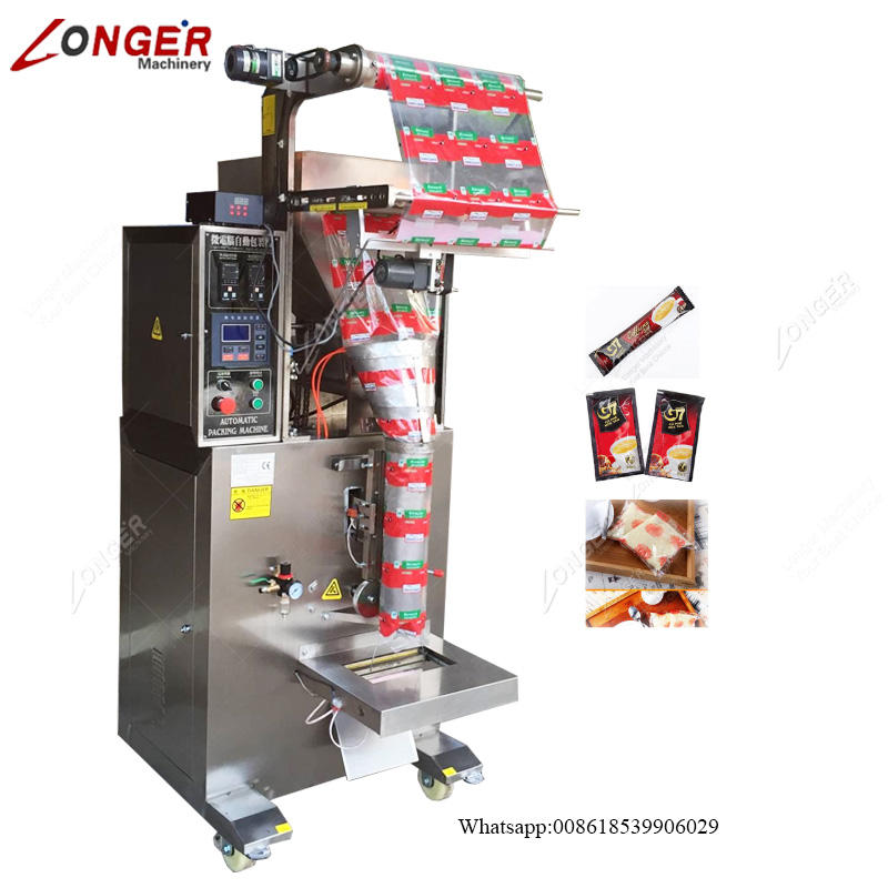 Small Sachets Detergent Turmeric Powder Coffee Bag Filling Bagging Manual Tea Stick Packaging Small Spices Packing Machine