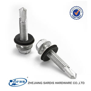 Stainless Steel Hex Washer Head Self Drilling TEK Taiwan Screws