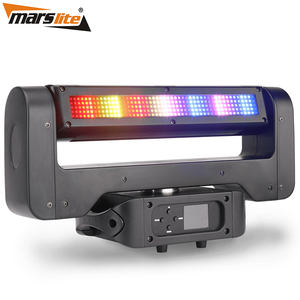 Hot moving par light SMD คู่หัว RGB strobe led moving head light