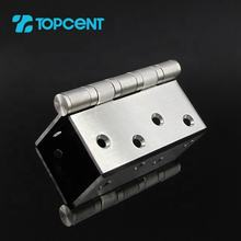 Tocpent cheap heavy duty door interior screws panel stainless steel swing door butt hinges for wooden doors