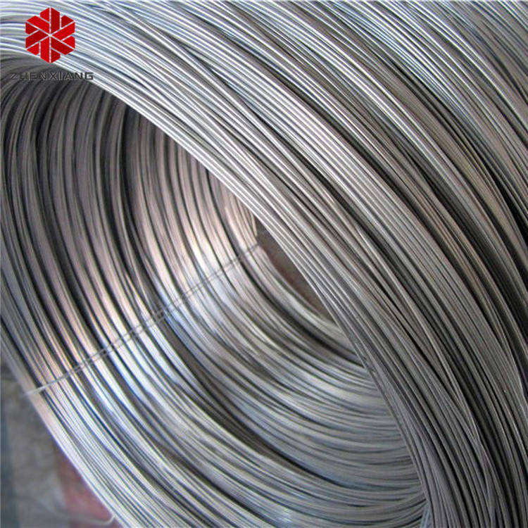 SAE 1006 6 Mm Hot Rolled Alloy Steel Wire Rod Coil untuk Membuat Kuku