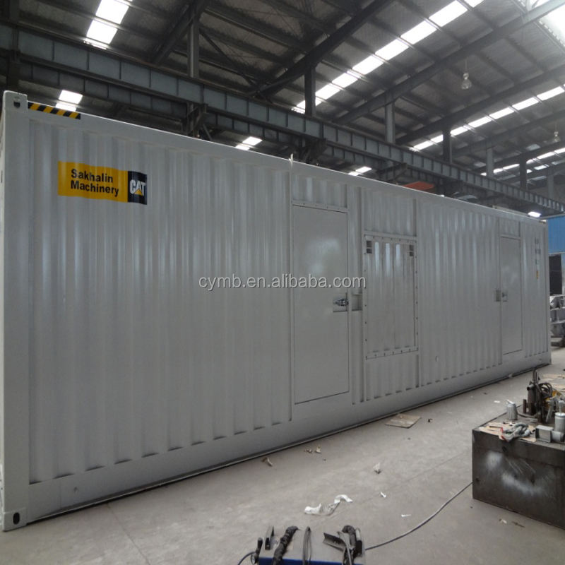container generator with 40ft generator container for sale