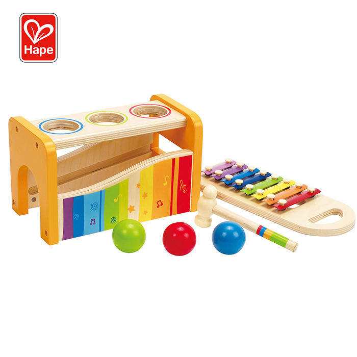 Hape kids funny musical toy teaching wooden musical xylophone toys
